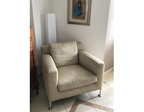 Sedia con braccioli Harry B&b a prezzo Outlet