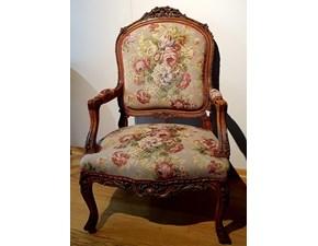 Sedia con braccioli Luigi xv Artigianale a prezzo ribassato