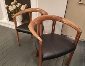Sedia con braccioli Luna art. 480 Bernini a prezzo scontato