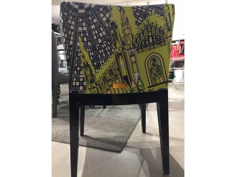 Sedia con braccioli mademoiselle emilio pucci kartell a - Sostituire seduta sedia ...