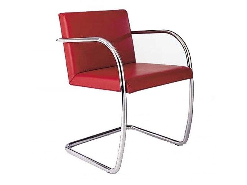 Sedia con braccioli Mies van chair made in italy ...