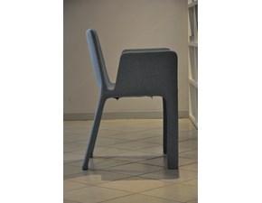 Sedia con braccioli Poltroncina joko  Kristalia a prezzo ribassato