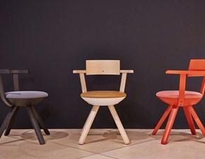 Sedia con braccioli Rival chair Collezione esclusiva a prezzo scontato