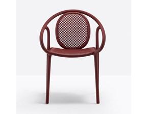Sedia con braccioli Sedia pedrali remind 3735 Pedrali a prezzo scontato