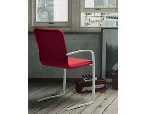 Sedia con schienale alto Alfa / b Zamagna in Offerta Outlet