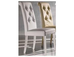 Sedia con schienale alto Bilia Artigianale a prezzo Outlet