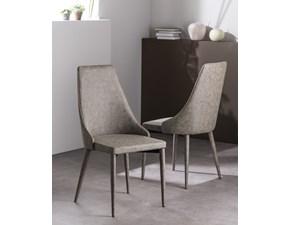 Sedia con schienale alto Carmen art. m230 Gipi a prezzo scontato