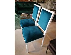 Sedia con schienale alto D.b 5282 Dialma brown a prezzo scontato