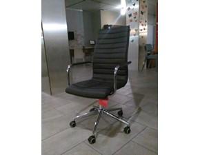 Sedia con schienale alto da ufficio modello Istar Midj