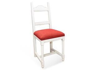 Sedia con schienale alto Imbottita Artigianale a prezzo scontato