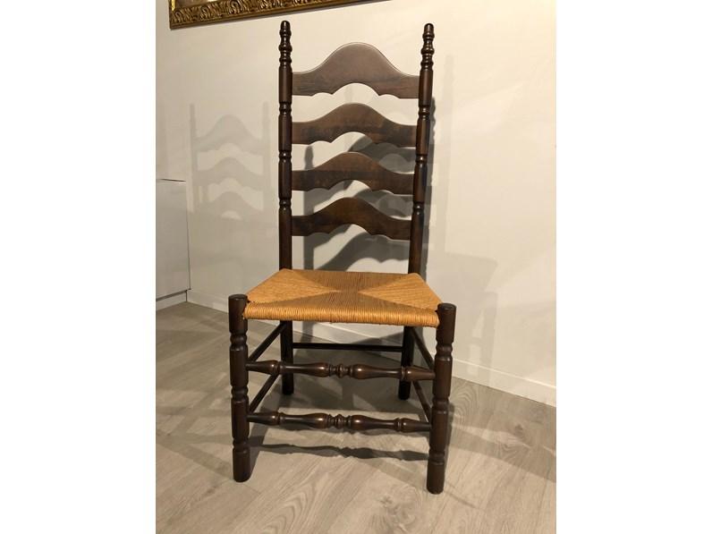 Sedia con schienale alto Linda di Tiferno a prezzo Outlet