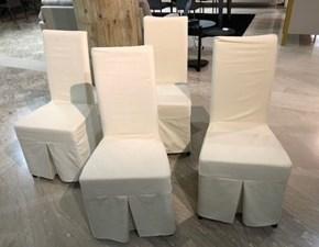 Sedia con schienale alto Margherita Alta corte in Offerta Outlet