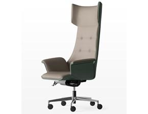 Sedia con schienale alto Maxima Artigianale a prezzo Outlet