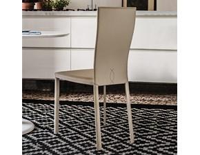 Sedia con schienale alto Nina Cattelan italia in Offerta Outlet