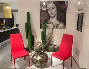 Sedia con schienale alto Norma couture Cattelan italia a prezzo scontato