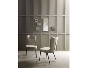 Sedia con schienale alto Sedia con schienale alto  Md work in Offerta Outlet