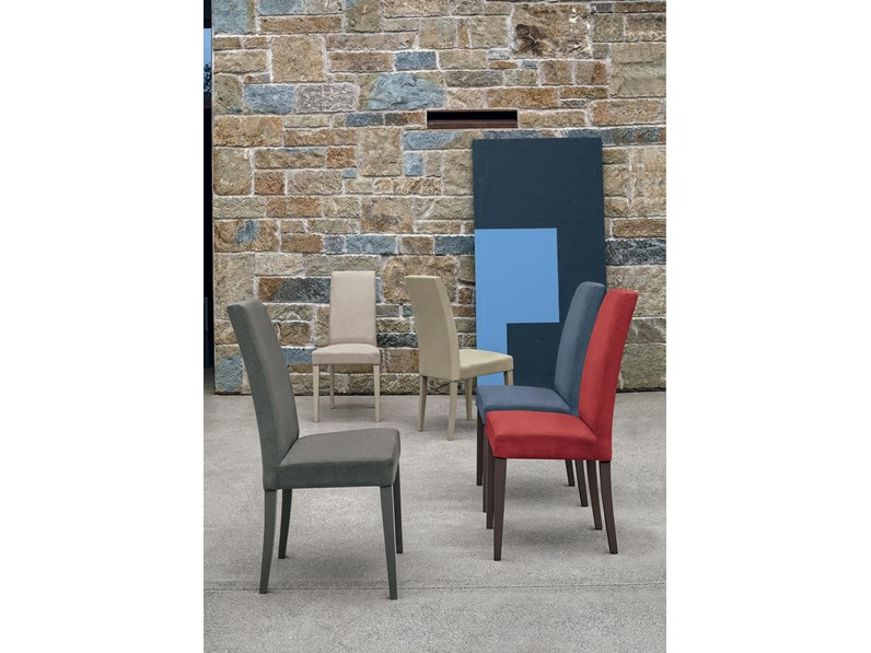 Sedie Design Schienale Alto.Sedia Con Schienale Alto Sedia Lugano Mottes Selection In Offerta