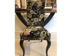 Sedia con schienale alto Silvia fdg 2830 Artigianale a prezzo scontato