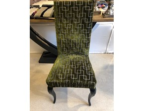 Sedia con schienale alto Silvia fdg2833 Artigianale in Offerta Outlet