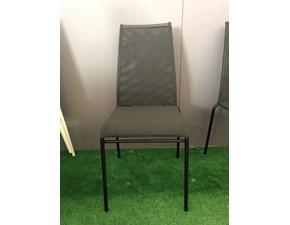 Sedia con schienale alto Web high Calligaris in Offerta Outlet