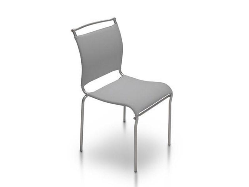 Sedia con schienale basso air connubia in offerta outlet for Sedie basso prezzo