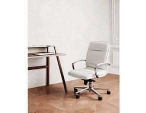 Sedia con schienale basso Formen Las mobili per ufficio a prezzo Outlet