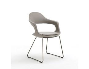 Sedia con schienale basso Frenchkiss Pellizzoni a prezzo Outlet