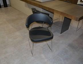 Sedia con schienale basso New york Connubia a prezzo Outlet