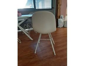 Sedia con schienale basso Sedia academy Calligaris a prezzo Outlet