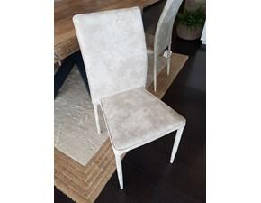 Sedia con schienale medio da soggiorno di Gipi a prezzo ribassato