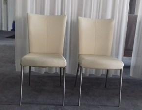 Sedia con schienale medio da soggiorno Naos a prezzo scontato