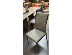 Sedia con schienale medio Luxy Ozzio in Offerta Outlet