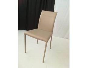Sedia con schienale medio Miss Temporary a prezzo scontato