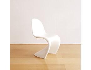Sedia con schienale medio Panton chair  Vitra in Offerta Outlet