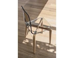 Sedia con schienale medio Sedia berlino Mottes selection a prezzo scontato