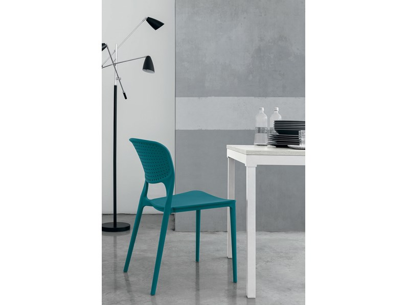 Sedia con schienale medio Toledo Target point in Offerta Outlet