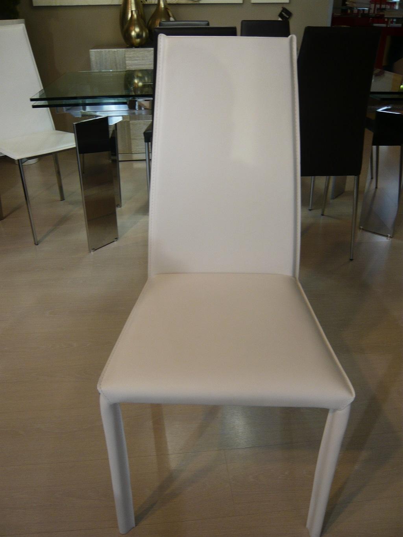 Sedia cuoio rigenerato 23182 sedie a prezzi scontati for Cuoio arredo