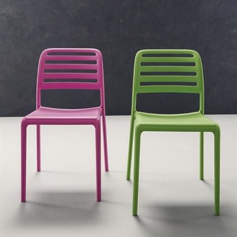 Sedia cup in vari colori sedie a prezzi scontati for Les chaises modernes