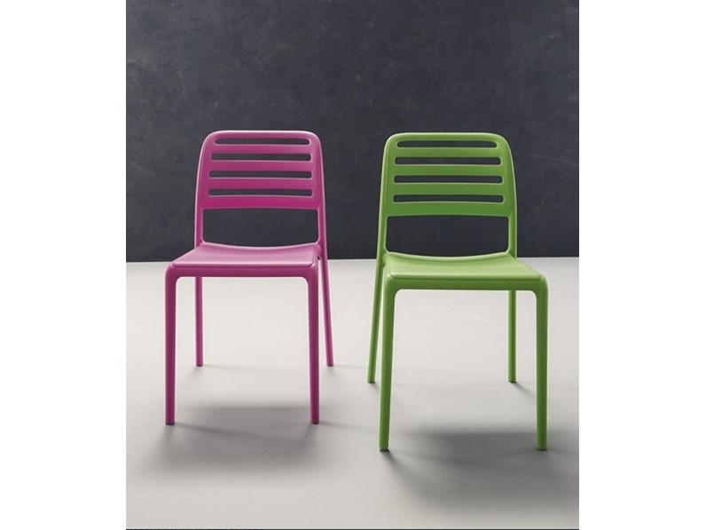 Sedia cup in vari colori for Zanotti arredamenti