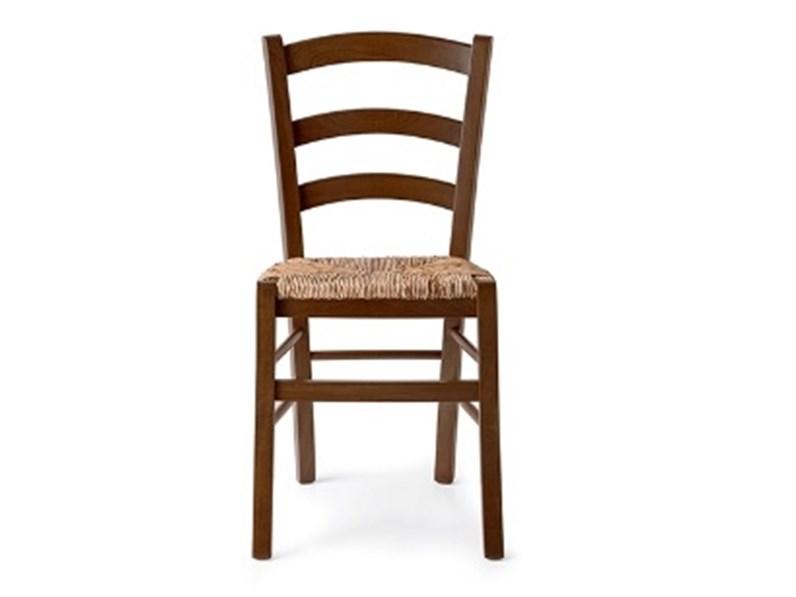 Sedia da cucina in legno Paesana SCONTATA