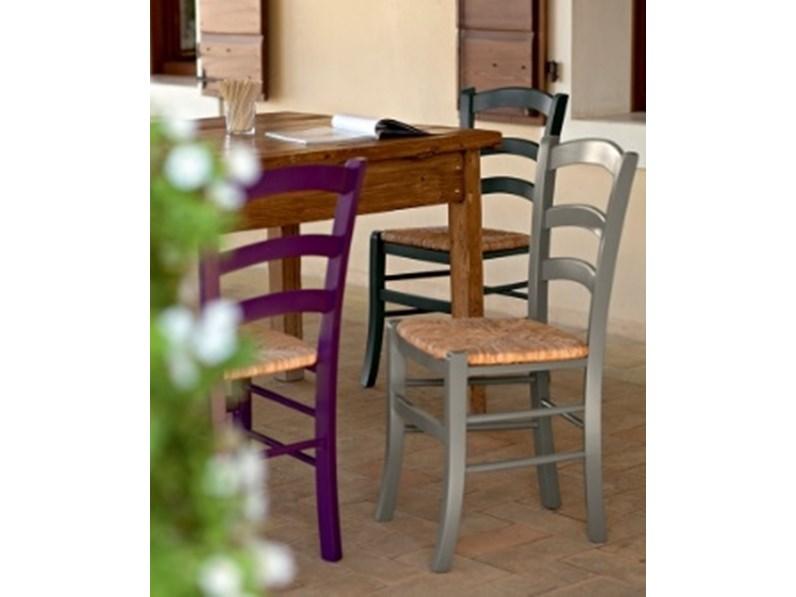 Sedie Da Cucina In Legno : Sedia da cucina in legno paesana scontata