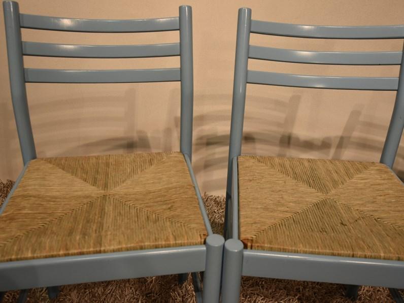 Sedia da cucina sedie paglia artigianale scontata for Sedie da cucina in legno e paglia