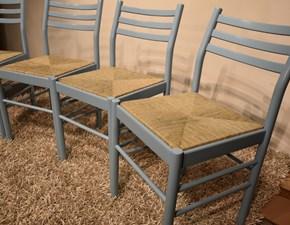 Sedia da cucina Sedie paglia Artigianale SCONTATA