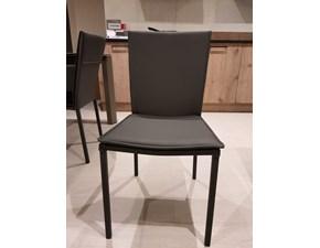binova sedie cucuna vintage metallo bianco