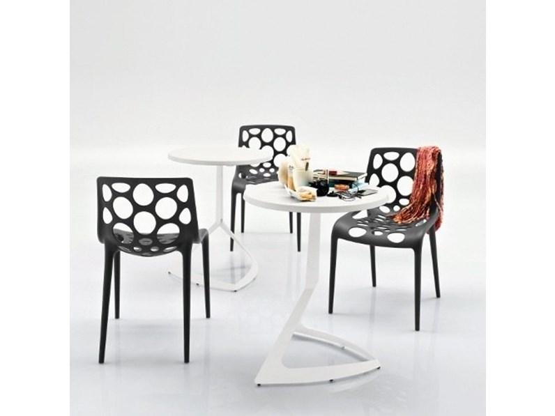 Sedie Da Esterno Design.Sedia Da Esterni Hero Connubia A Prezzo Ribassato 25