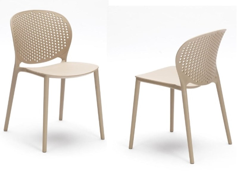 Sedie Da Esterno Design.Sedia Da Esterno Ed Interno Design 5 Colori