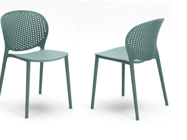 Sedie Da Giardino Offerte.Sedia Da Esterno Ed Interno Design 5 Colori