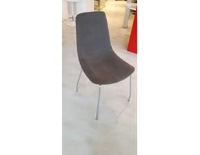 Sedia da soggiorno 4 sedie lynea Domitalia in Offerta Outlet