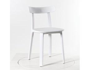 Sedia da soggiorno All plastic chair jasper morrison 2016 Vitra a prezzo Outlet
