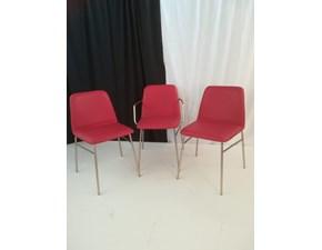 Sedia da soggiorno Bardot Temporary a prezzo Outlet